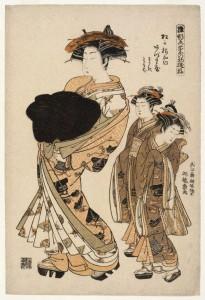 Brooklyn_Museum_-_Azumaya_a_Yoshiwara_Beauty_of_the_Tea_House_Matsu_Hanaya_Followed_by_Two_Attendants_-_Isoda_Koryusai