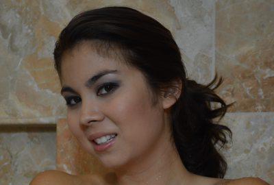 Mai Ly Showering Voyeur